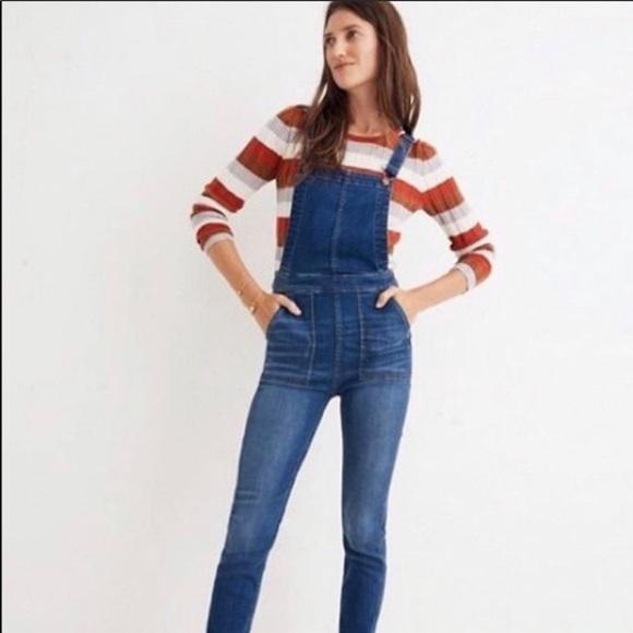732f52ec4daf Madewell Jeans   Nwt Skinny Overalls In Santiago Wash   Poshmark